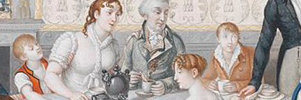 Regency Family Meal Ettiquite