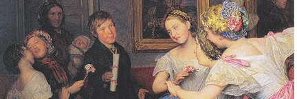 Male Female interactions in regency era