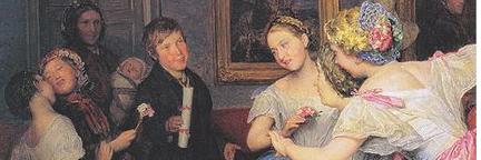 Male Female interactions in regency era